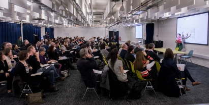 AAE 2016: Keynote presentation by Izaskun Chinchilla on Curiosity during AAE, The Research Based Education 2016 international peer reviewed conference. Held at Bartlett School of Architecture. 140, Hampstead Road, London. 08/04/2016.
