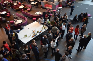 Closing Drinks, AAE 2017 'Architecture Connects' at Oxford Brookes University