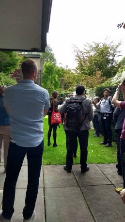 Walking Tour of Oxford, AAE 2017 'Architecture Connects' at Oxford Brookes University