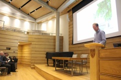 Pre-dinner talk on Wolfson College architecture, AAE 2017 'Architecture Connects' at Oxford Brookes University